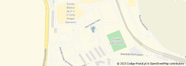 rua correia teles lisboa mapa Código Postal da Rua Correia Teles   Amadora rua correia teles lisboa mapa
