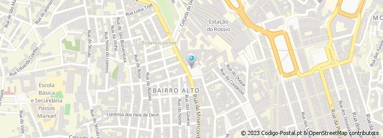 largo trindade coelho lisboa mapa Código Postal do Largo Trindade Coelho largo trindade coelho lisboa mapa