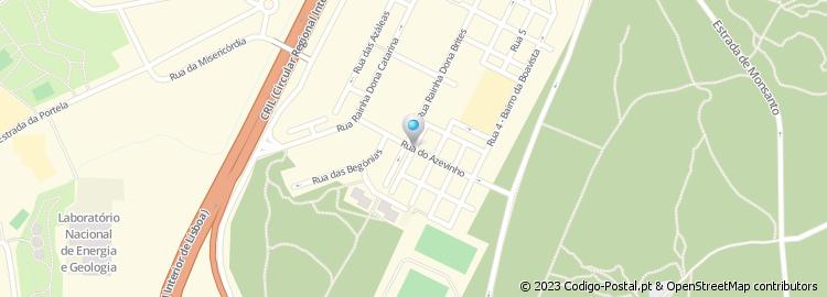 rua da boavista lisboa mapa Código Postal da Rua 1 do Bairro da Boavista   Lisboa rua da boavista lisboa mapa