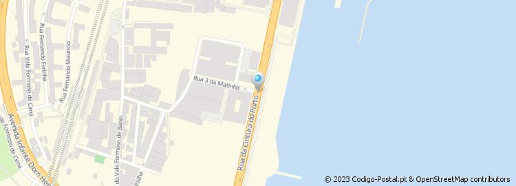 rua cintura do porto de lisboa mapa Código Postal da Rua Cintura do Porto   Lisboa rua cintura do porto de lisboa mapa