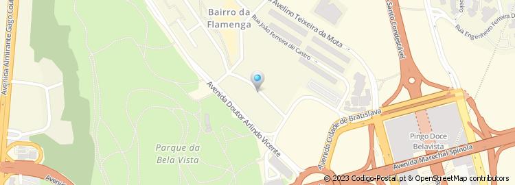 rua do telhal lisboa mapa Código Postal da Rua do Telhal Ao Poço do Bispo   Lisboa rua do telhal lisboa mapa