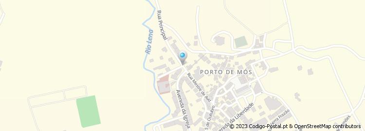 rua de aviz porto mapa Código Postal da Rua Mestre de Aviz   Porto de Mós rua de aviz porto mapa