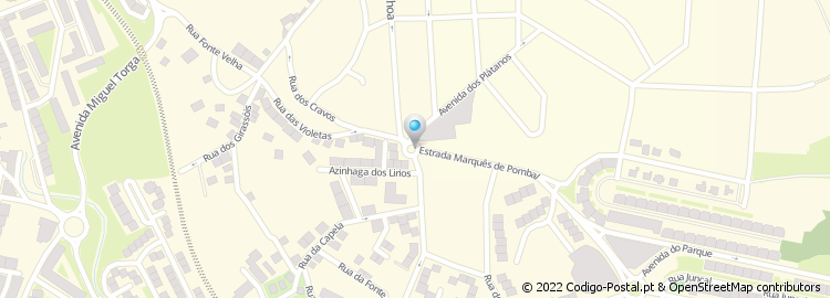 mapa rinchoa Código Postal de Calçada da Rinchoa   Sintra mapa rinchoa